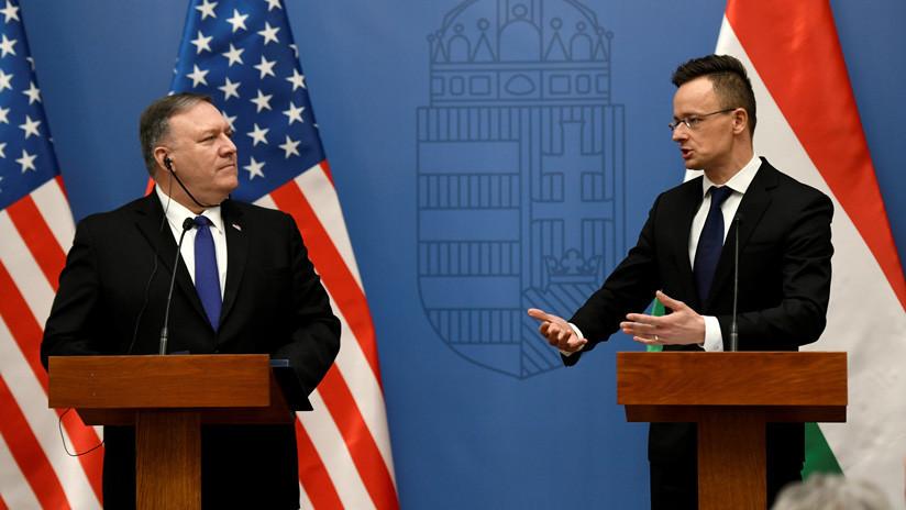 """""""Una enorme hipocresía"""": Hungría condena las advertencias de EE.UU. sobre sus lazos con Rusia y China"""