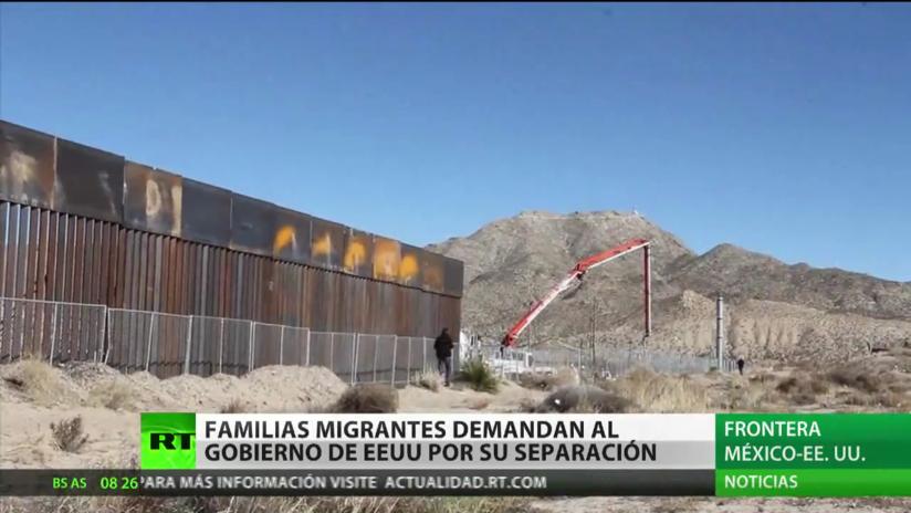 Familias migrantes demandan al Gobierno de EE.UU. por su separación