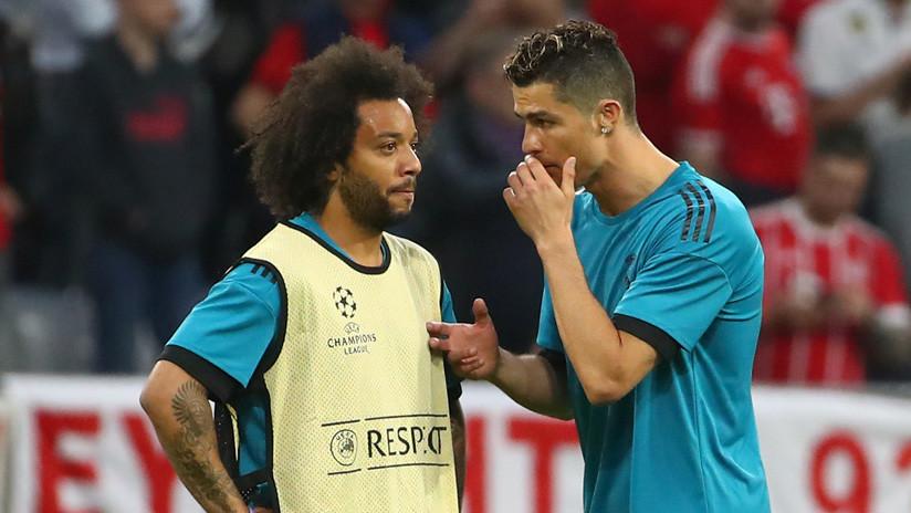 Marcelo confiesa el momento en que CR7 le comentó que se marchaba del Real Madrid