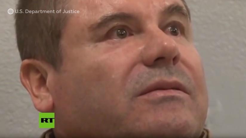 VIDEO: Imágenes inéditas del 'Chapo' entre lágrimas durante su extradición a EE.UU. en 2017