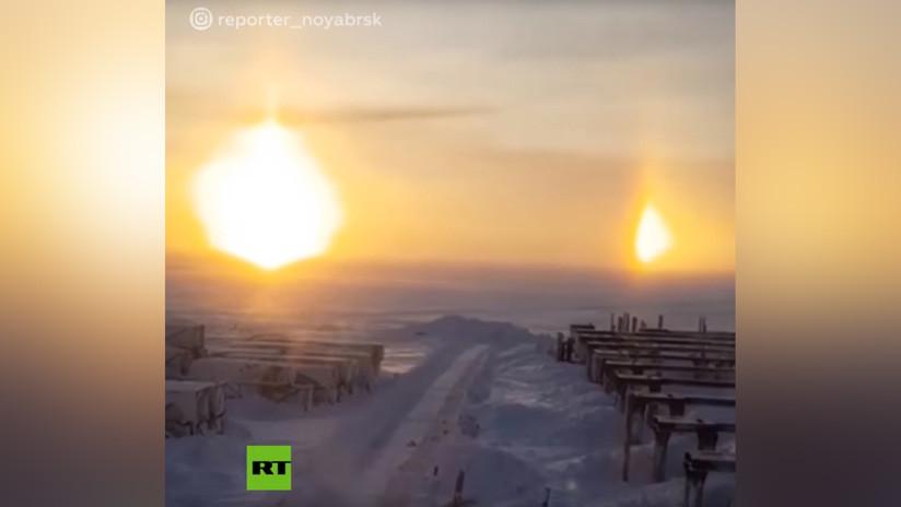 VIDEO: Filman tres soles en Siberia