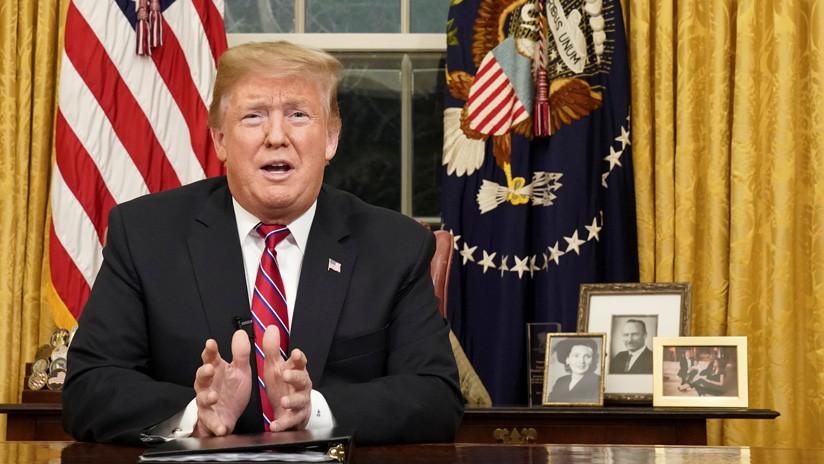 """Trump reitera que estudia """"todas las opciones"""" sobre """"la crisis en Venezuela"""""""