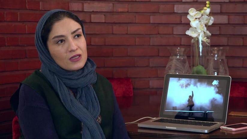 """Trump tuiteó la foto de una manifestante iraní y la fotógrafa explica por qué es una """"gran vergüenza"""" para ella"""