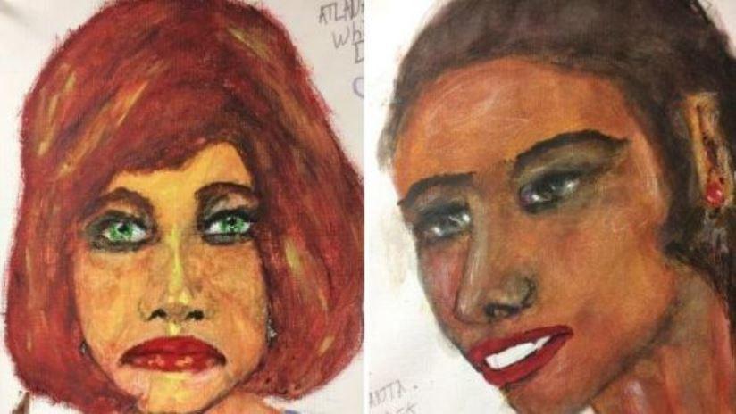 Confesó haber asesinado a 90 mujeres y ahora el FBI hace públicos los dibujos que el asesino hizo de las víctimas