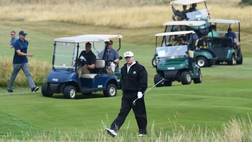 Trump instala un simulador de golf en la Casa Blanca