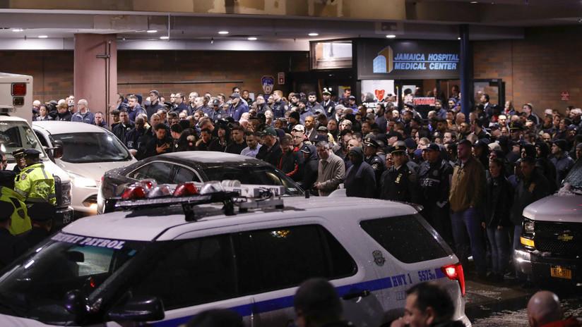 El 'fuego amigo' de 42 balas mata a un policía y hiere a otro en Nueva York