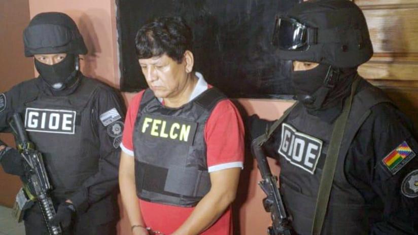 Detienen en Bolivia al 'Chapo Guzmán' de Sudamérica