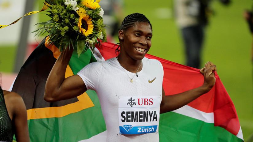 La Federación Internacional de Atletismo niega que vaya a considerar a la campeona olímpica sudafricana Caster Semenya como un hombre