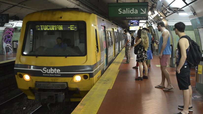 Juez ordena que viajar en el metro de Buenos Aires sea gratis cuando no funcionen escaleras y ascensores