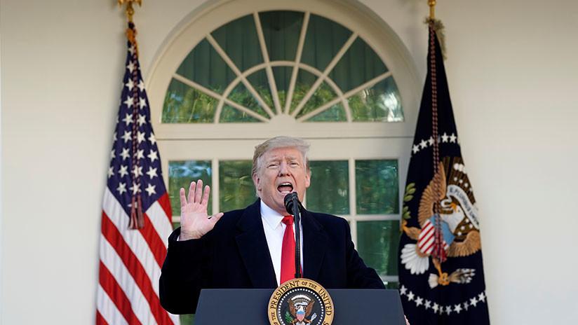 La Casa Blanca: Trump declarará emergencia nacional para financiar el muro en la frontera con México