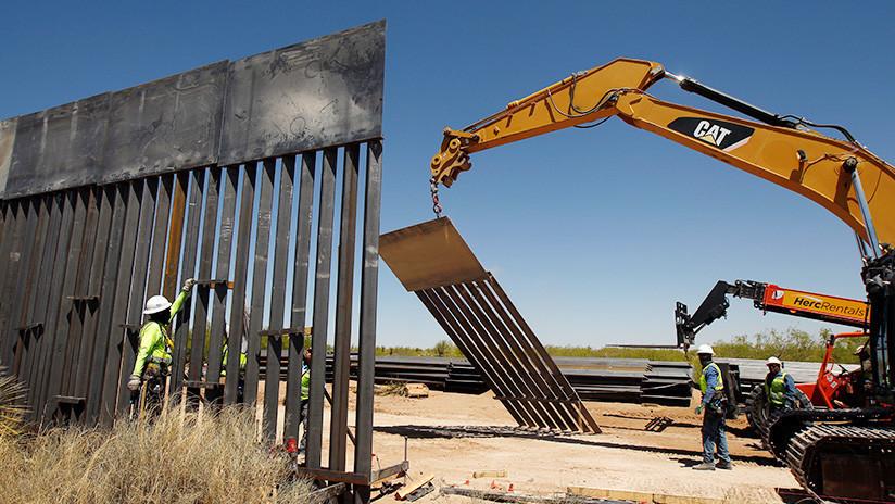 Congreso de USA aprueba ley de financiamiento del muro en la frontera con México