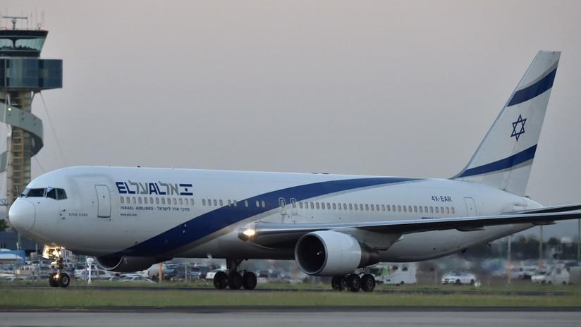 FOTOS: Detectan una avería en el avión de Netanyahu en el aeropuerto de Varsovia