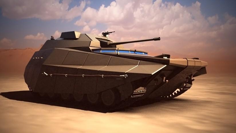 VIDEO: Israel presenta su concepto de carro de combate del futuro