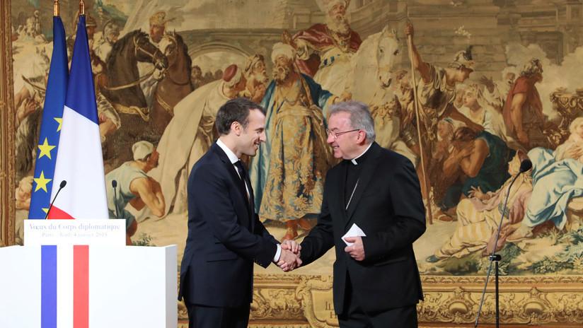 Investigan al nuncio del Vaticano en Francia por supuestas agresiones sexuales a un joven funcionario
