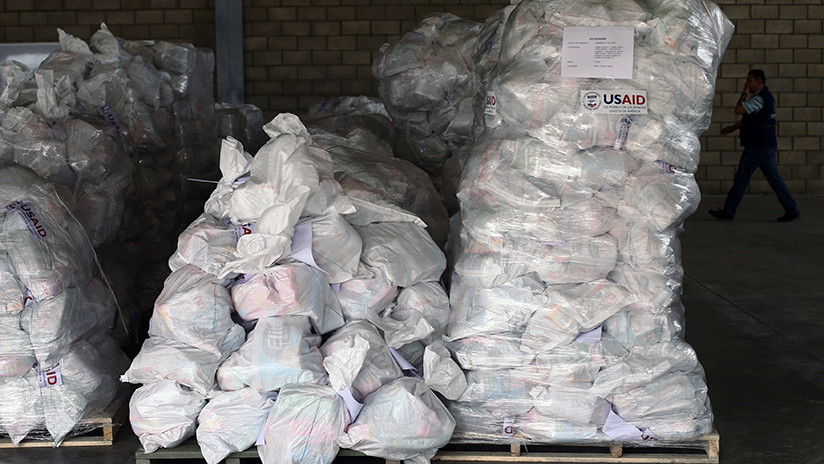 """EE.UU. enviará este sábado a Colombia la """"ayuda humanitaria"""" para Venezuela"""