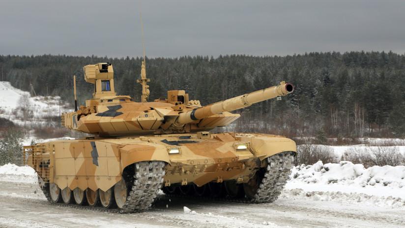 """""""No tiene rivales"""": El nuevo y mejorado tanque ruso T-90M es más preciso y resistente"""
