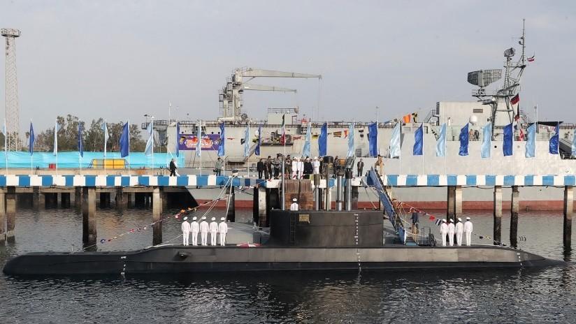 FOTOS: Irán presenta su primer submarino semipesado de producción propia equipado con misiles de crucero