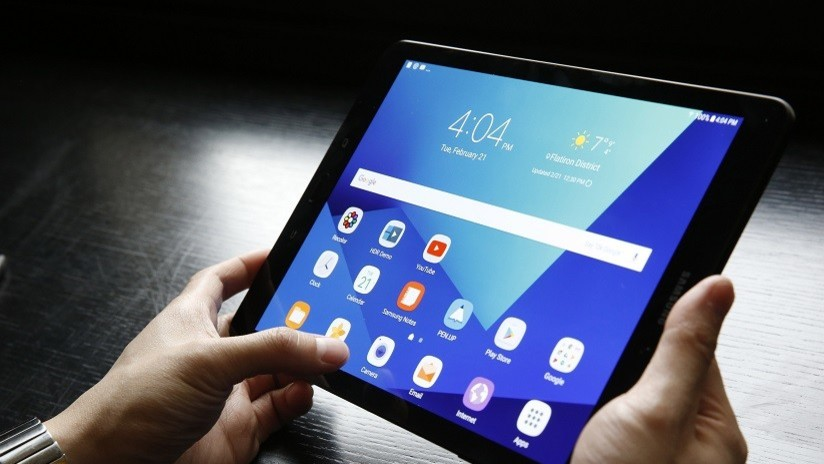 Resultado de imagen para Samsung revela su nueva tableta, la más delgada y ligera del mundo