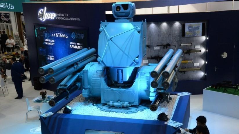 FOTO, VIDEO: Las armas más innovadoras que presenta Rusia en la exposición internacional IDEX de Abu Dabi