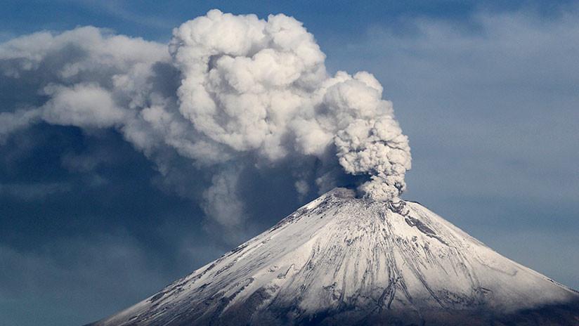 México: El volcán Popocatépetl registra exhalaciones, un sismo y varias explosiones en 24 horas (FOTOS)
