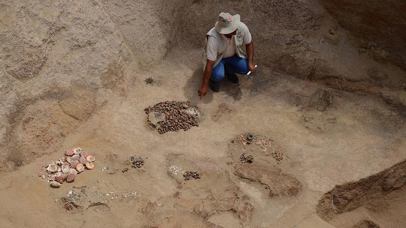 Perú: Descubren una tumba inca con los restos de 9 personas aparentemente sacrificadas hace más de 500 años