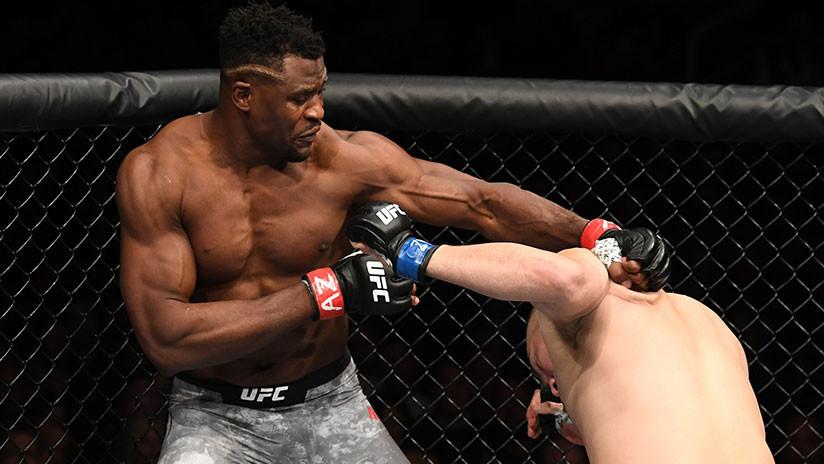 Francis Ngannou acaba en 26 segundos con el excampeón de la UFC Caín Velásquez (VIDEO)