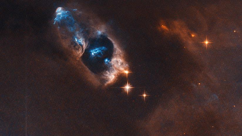 FOTO: El Hubble capta evidencias del nacimiento de una estrella