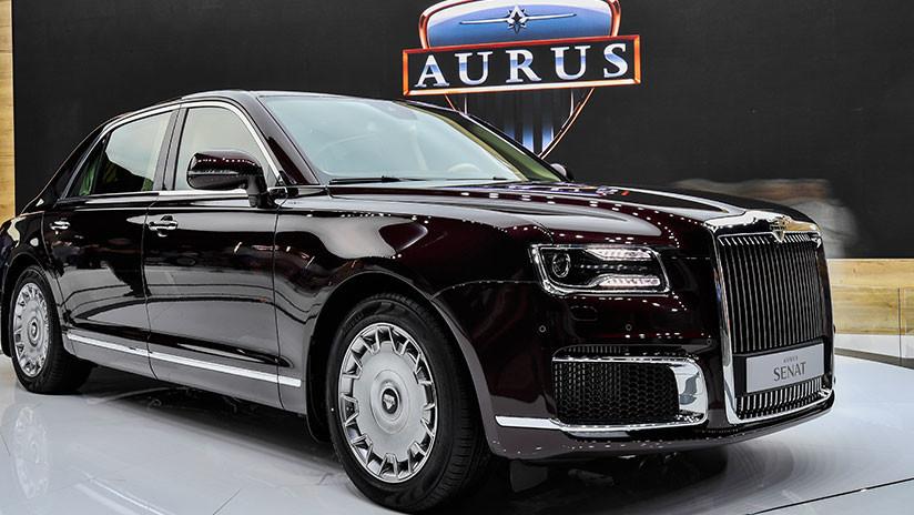 Coche presidencial: Publican imágenes exclusivas del interior de la limusina rusa Aurus