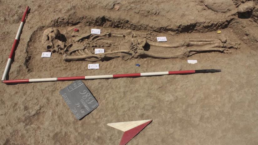 Descubren el secreto de un extraño entierro medieval en Italia