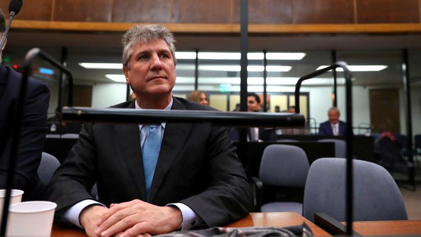 El exvicepresidente argentino Amado Boudou ingresará de nuevo en prisión