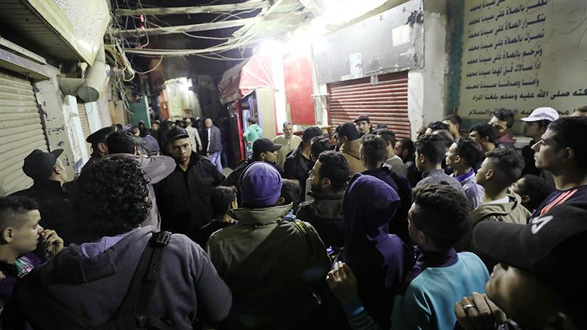 VIDEO: Momento exacto en que un terrorista suicida en bicicleta detona su carga en El Cairo