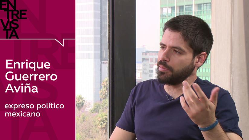 """Antiguo preso político mexicano: """"El Gobierno de Peña Nieto quiso silenciar su falta de legitimidad"""""""