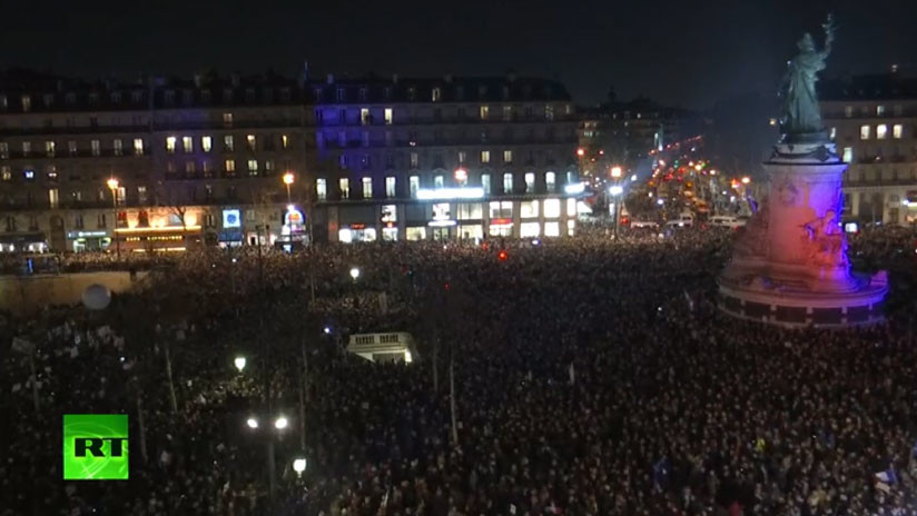 VIDEO: Protesta masiva contra el antisemitismo en París
