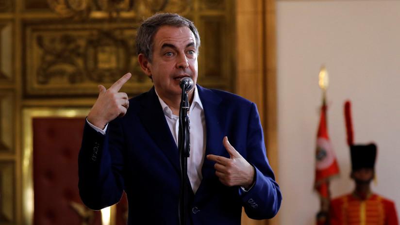 """""""Sé de lo que hablo"""": Zapatero advierte que eventual uso de la fuerza en Venezuela será """"dramático"""""""