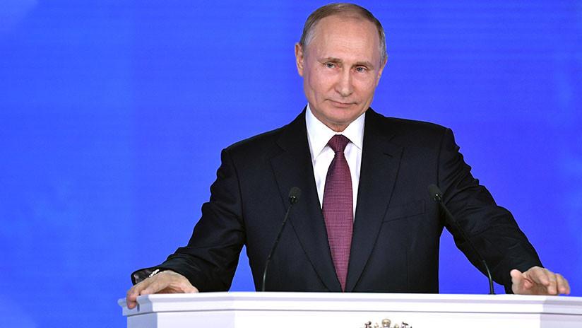 """Putin: """"Por primera vez en la historia nuestras reservas cubren por completo la deuda externa del Estado"""""""