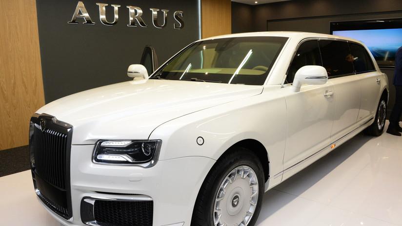 Сuero natural, acabados de madera y tecnología: la lujosa limusina Aurus, por dentro y por fuera