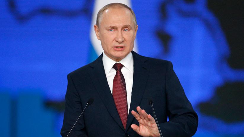 """Putin advierte a los funcionarios que no quieran """"poner el listón alto"""""""
