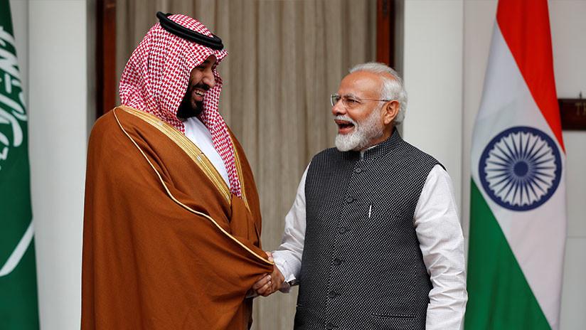 Arabia Saudita planea invertir más de 100.000 millones de dólares en la India
