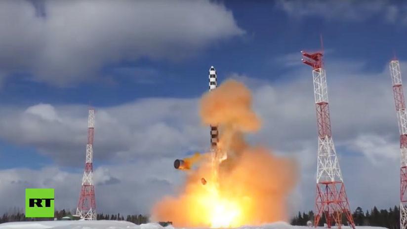 Rusia: Las pruebas del misil intercontinental Sarmat comienzan una nueva fase
