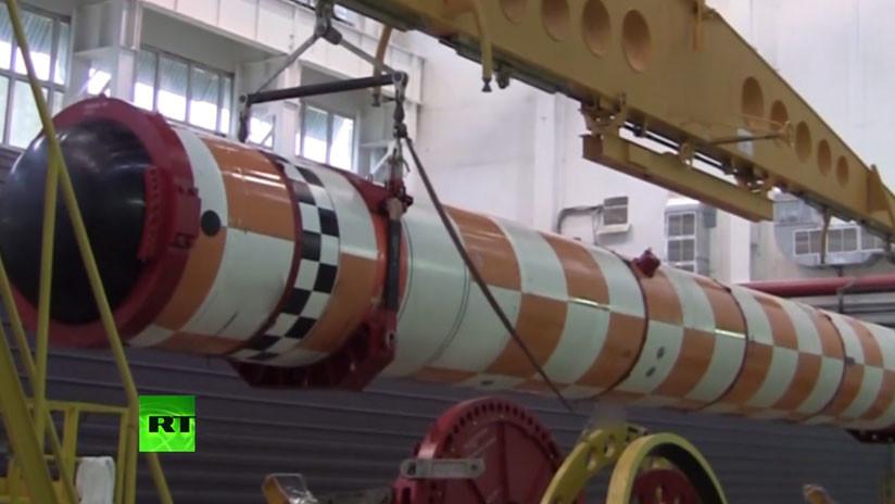El primer video de las pruebas subacuáticas del dron submarino ruso Poseidón