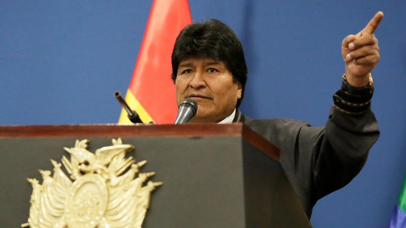 """Evo Morales: """"Trump será responsable de que vuelva la muerte y la destrucción"""""""