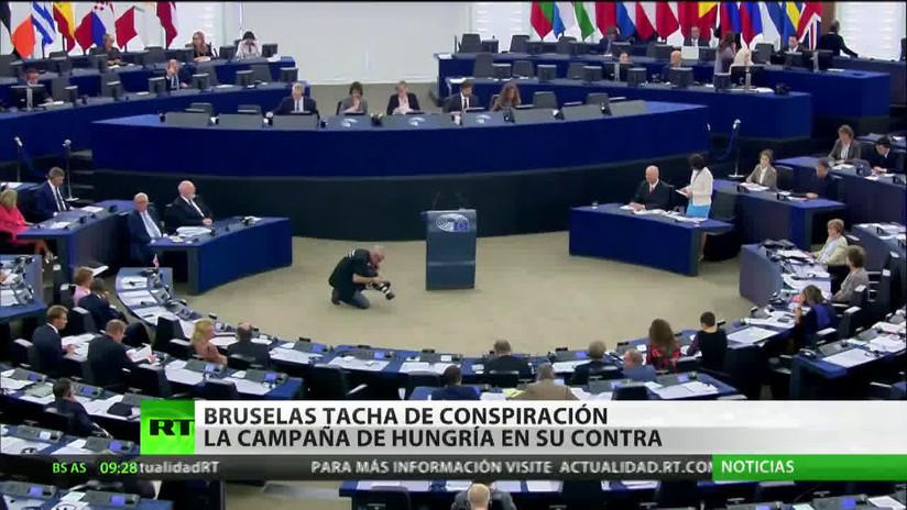 Bruselas califica de conspiración las acusaciones de Hungría contra el presidente de la Comisión Europea