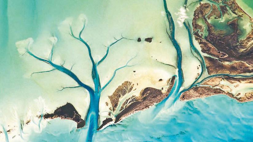 'Tierra': La NASA muestra la belleza abstracta del planeta desde la perspectiva de un satélite