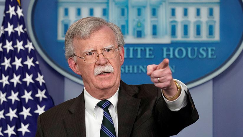 """¿Ahora Nicaragua? Bolton afirma que los días de Ortega """"están contados"""" y el pueblo """"pronto será libre"""""""