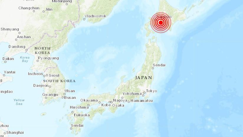 Un sismo de magnitud 5,5 se registra en Japón