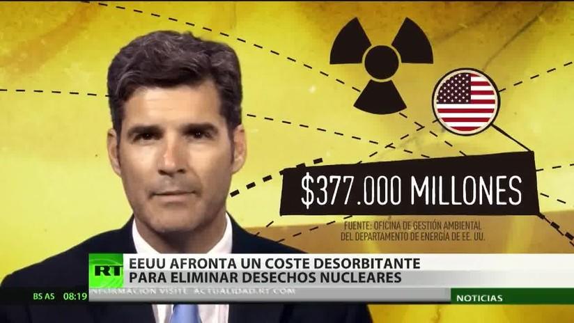 EE.UU. debe gastar 377 mil millones de dólares para limpiar desechos nucleares generados por sus armas