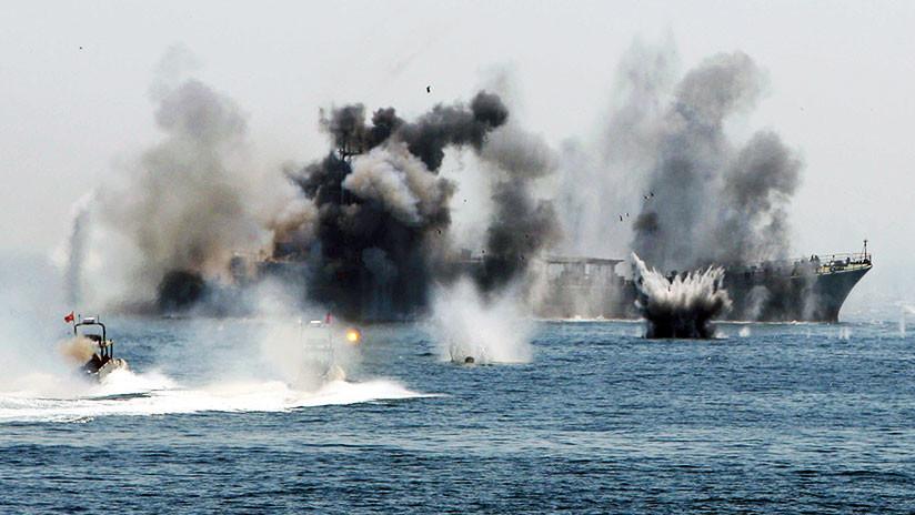 La Armada de Irán realizará ejercicios a gran escala en el estrecho de Ormuz