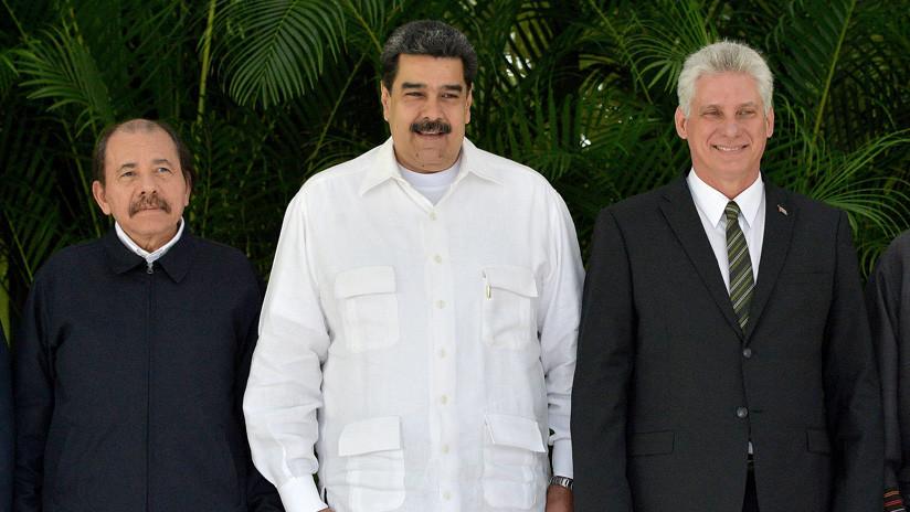 Resultado de imagen para cuba venezuela nicaragua