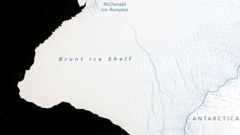 Un iceberg dos veces más grande que Nueva York está a punto de desprenderse en la Antártida