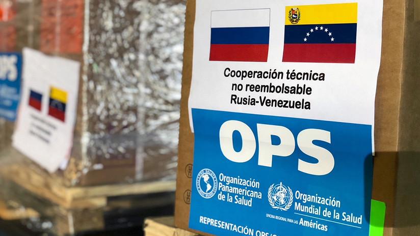 Llegan a Venezuela 7.5 toneladas de medicamentos rusos